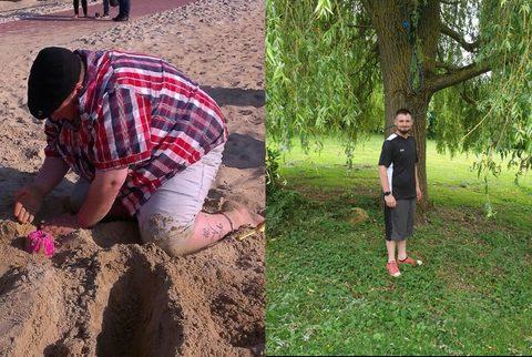Jürgen nahm in eineinhalb Jahren 45 Kilo ab