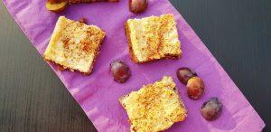 Zwetschgenkuchen mit Mandelbaiser