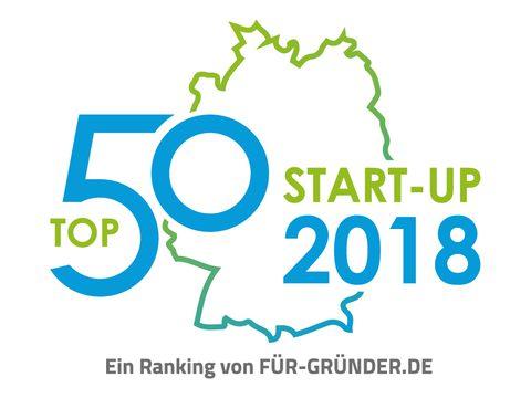 PM: Münchner Unternehmen FOODPUNK auf Platz 6 der Top 50 Startups des Jahres 2018