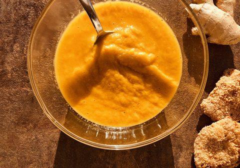 Karottensuppe mit Ingwer und Curry