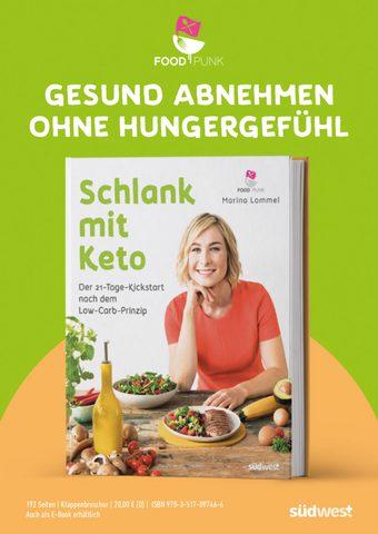"""""""Schlank mit Keto"""" – Marinas neues Buch"""