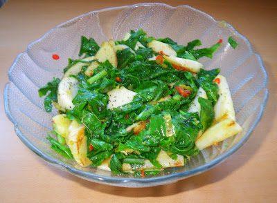 Lauwarmes Mairübchen-Gemüse mit Kokosöl und Limette