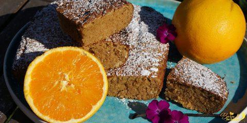 Orangenkuchen unglaublich luftig-locker (ohne Mehl & Zucker, Paleo, Keto, LCHF)