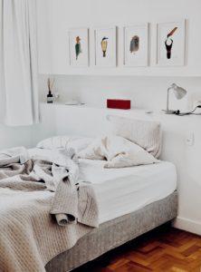 Hausstaubmilben - Schlafzimmer
