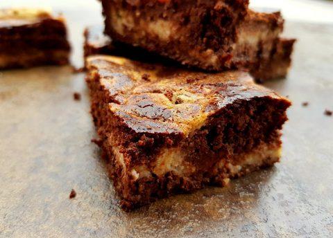 Brownies mit Cheesecake