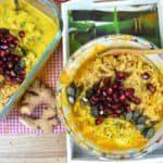Hähnchen-Curry mit Mango und Reis