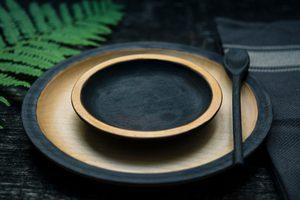 Ein leerer Teller: Fasten