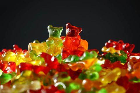 Kalorienarme Süßigkeiten