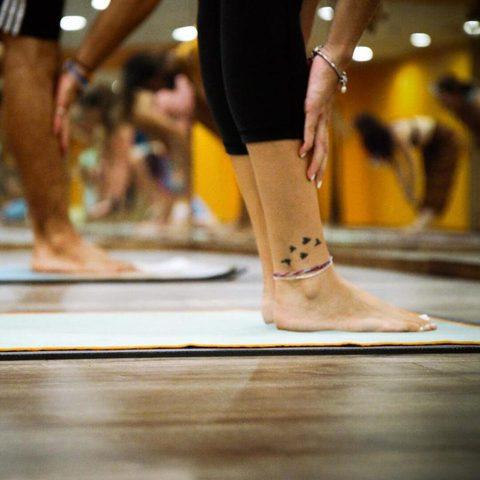 Yoga für Anfänger im Kurs