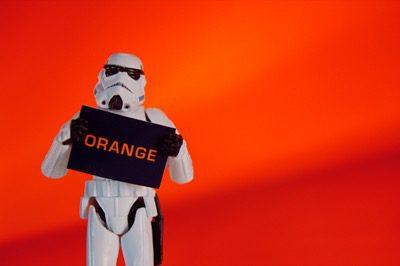 Orange enthält Fruchtzucker