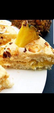 Ananas-Kokos Torte
