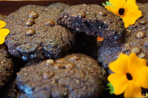 Double Chocolate Chip Cookies (ohne Mehl, Nüsse und Kokos – Primal & Paleo)