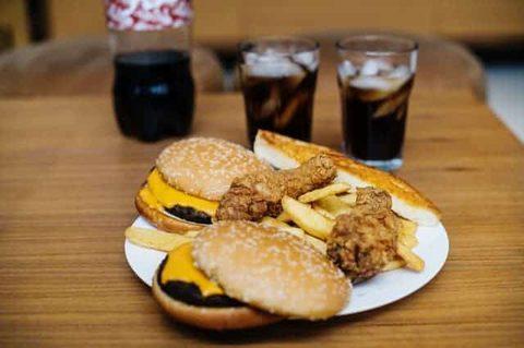 Cholesterin senken - Fastfood