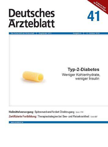 Ärzteblatt: Ketonkörper gegen Diabetes!