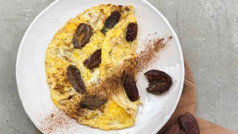 Süßes Omelett persischer Art