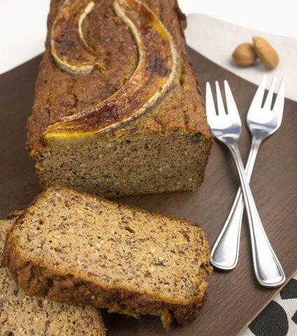 Bananen-Apfel Brot ohne Mehl und ohne Zucker