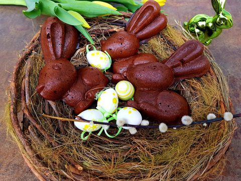 Schoko Karotten-Hasen