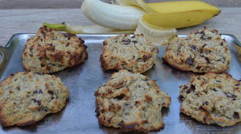 Paleo Schoko Bananen Kekse