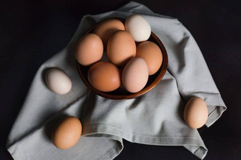 Vitamin-B12-Lebensmittel Eier