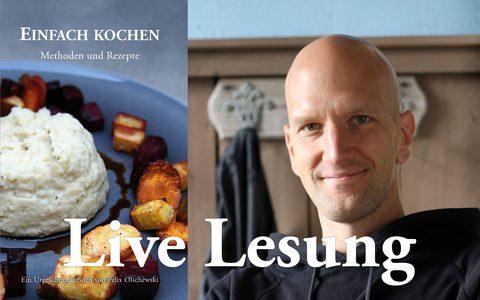 Öffentliche Lesung von Einfach kochen (Video)