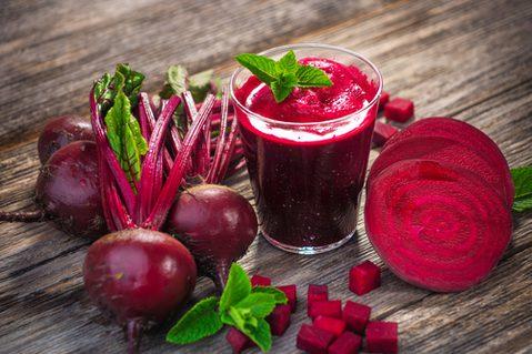 Rote Beete Gesund - Rote Beete roh, gekocht, Saft
